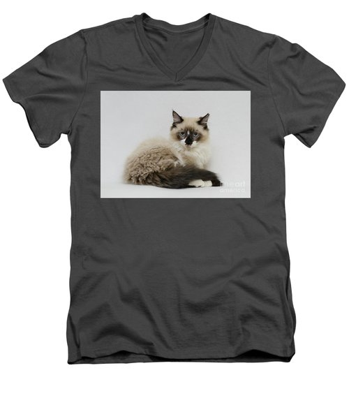 Mr. Atkin Men's V-Neck T-Shirt