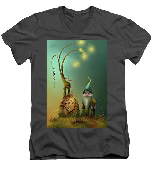 Mr Cogs Men's V-Neck T-Shirt