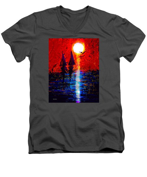 Dripx 70 Men's V-Neck T-Shirt