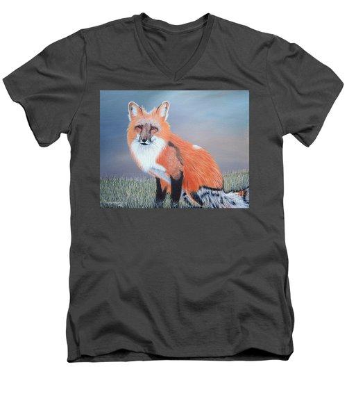 Mr. Fox Men's V-Neck T-Shirt