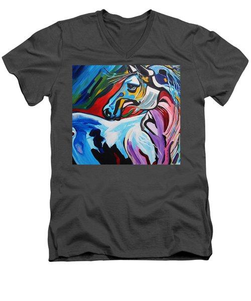 Mr Gorgeous Men's V-Neck T-Shirt by Nora Shepley