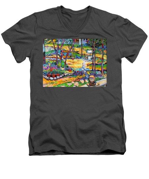Mr. Pickles Men's V-Neck T-Shirt