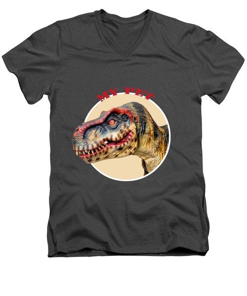 Mr. T-rex, My Pet Men's V-Neck T-Shirt