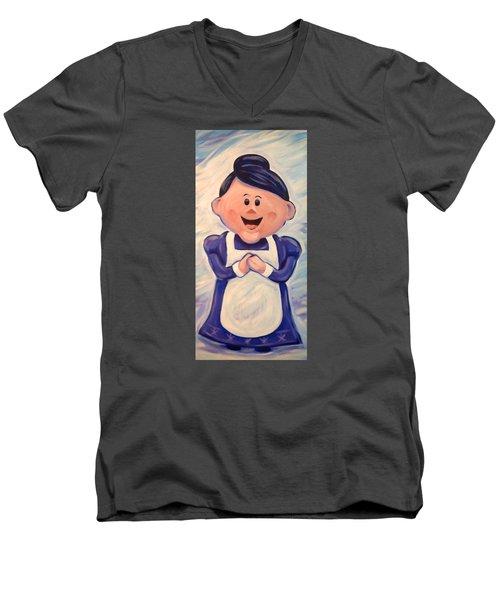 Mrs Claus Men's V-Neck T-Shirt