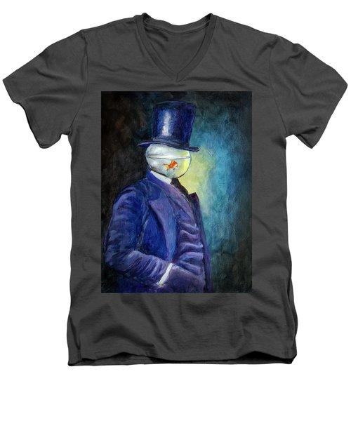Mssr. Fishhead Men's V-Neck T-Shirt