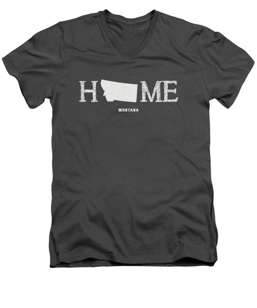 Mt Home Men's V-Neck T-Shirt
