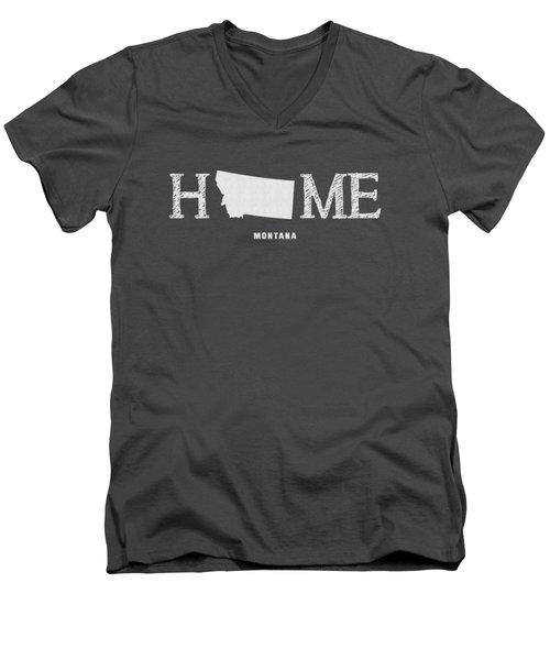 Mt Home Men's V-Neck T-Shirt