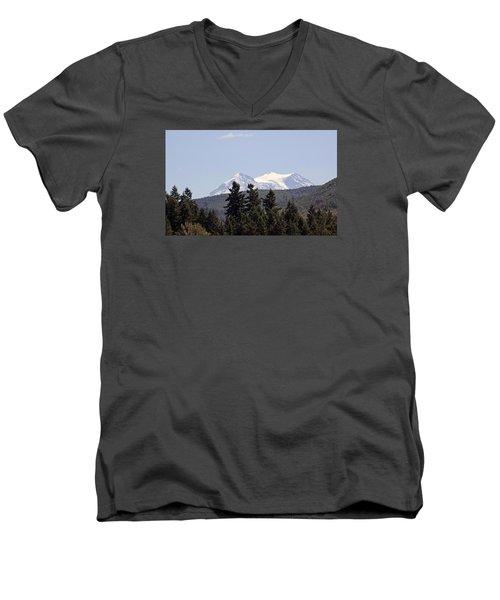Mt. Rainier Men's V-Neck T-Shirt