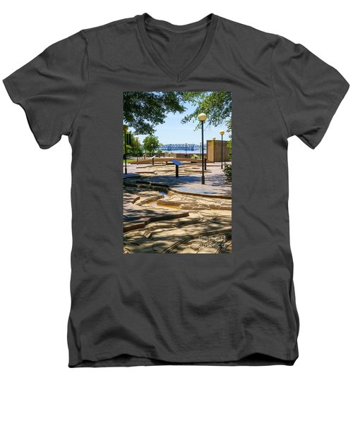 Mud Island Park Men's V-Neck T-Shirt