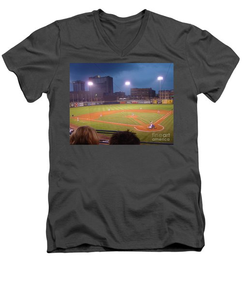 Mudhen's Game Men's V-Neck T-Shirt