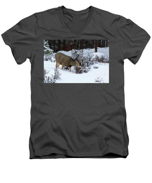 Mule Deer - 9130 Men's V-Neck T-Shirt