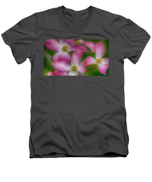 Mulligan Men's V-Neck T-Shirt by Skip Tribby