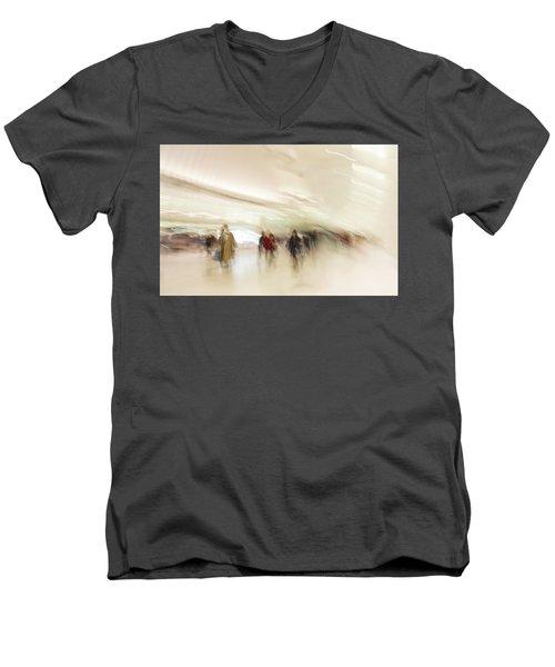 Multitudes Men's V-Neck T-Shirt