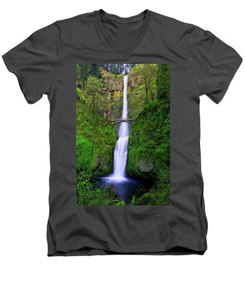 Multnomah Dream Men's V-Neck T-Shirt