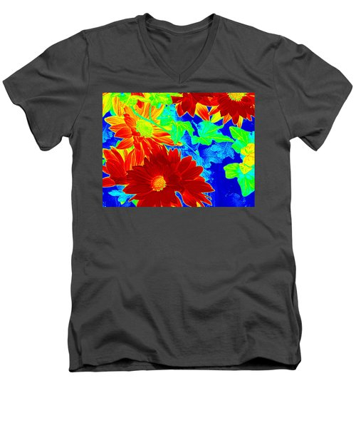 Mums In My Coloring Book Men's V-Neck T-Shirt