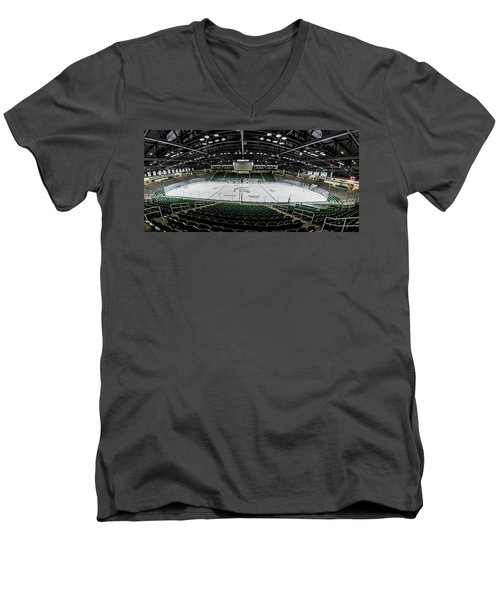 Munn Ice Arena  Men's V-Neck T-Shirt