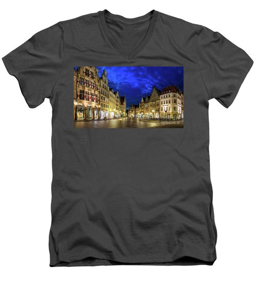 Munster Prinzipalmarkt Men's V-Neck T-Shirt