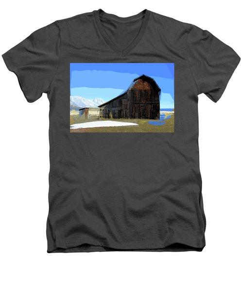 Murphy's Barn Men's V-Neck T-Shirt