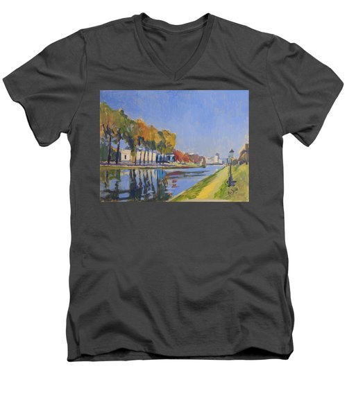 Musee La Boverie Liege Men's V-Neck T-Shirt