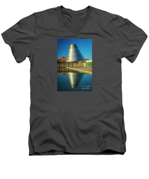Museum Of Glass Tower Men's V-Neck T-Shirt