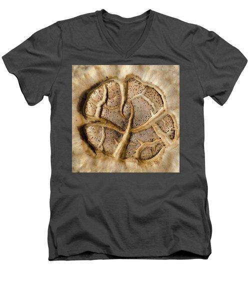 Mushroom Art Men's V-Neck T-Shirt