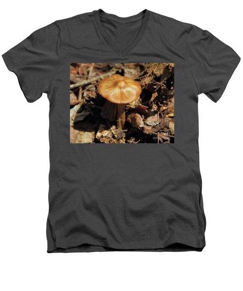 Mushroom Rising Men's V-Neck T-Shirt