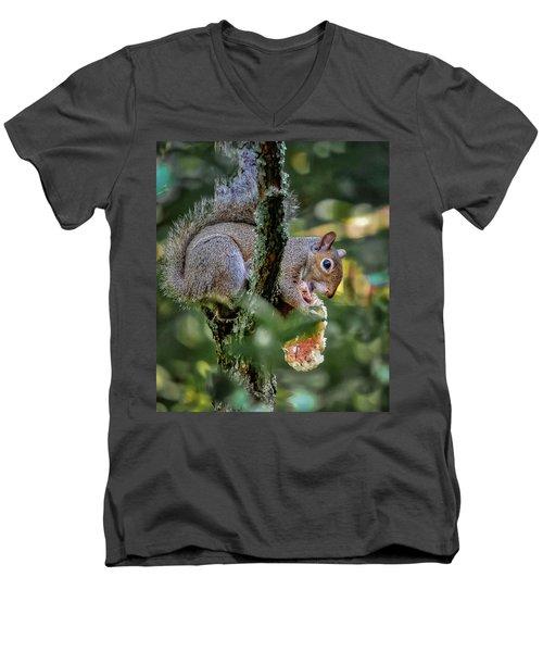 Mushroom Treat Men's V-Neck T-Shirt