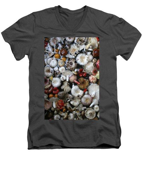 Mushrooms In Thailand Men's V-Neck T-Shirt