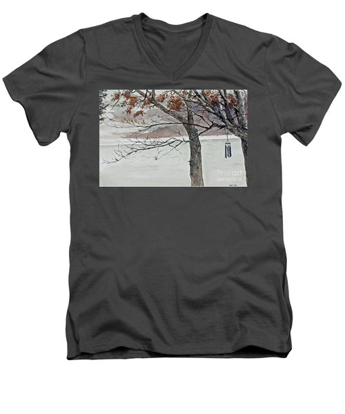 Music Of The North Wind Men's V-Neck T-Shirt