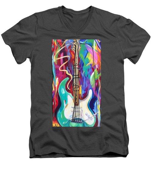 Musical Whimsy  Men's V-Neck T-Shirt