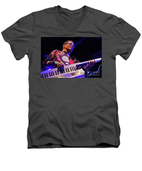 Music_d6340 Men's V-Neck T-Shirt