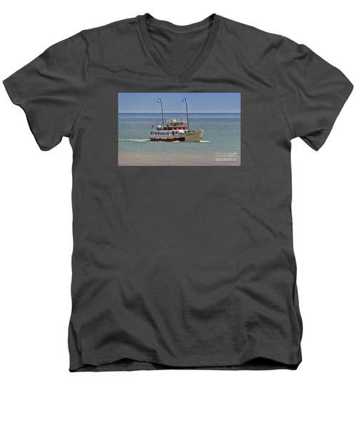 Mv Yorkshire Belle Men's V-Neck T-Shirt