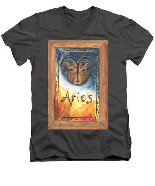 My Aries Men's V-Neck T-Shirt