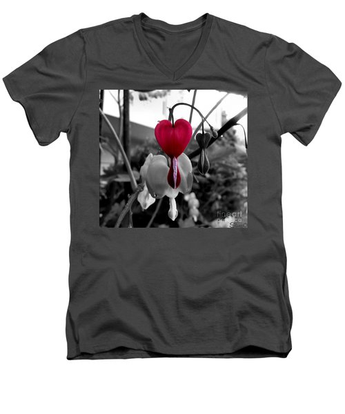 My Bleeding Heart Men's V-Neck T-Shirt