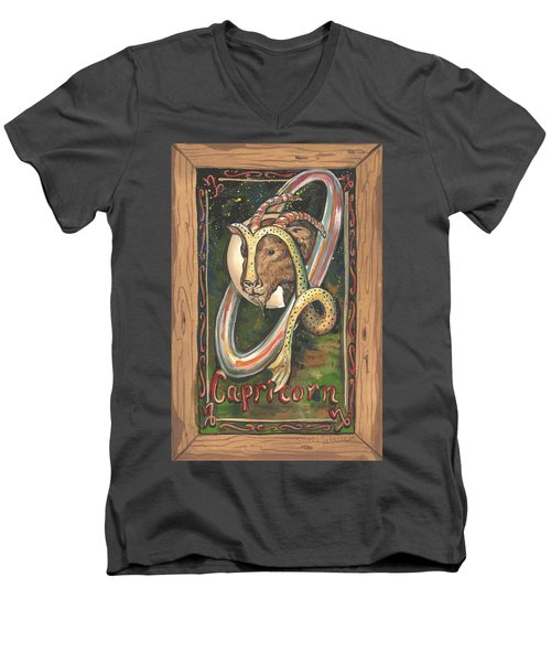 My Capricorn Men's V-Neck T-Shirt
