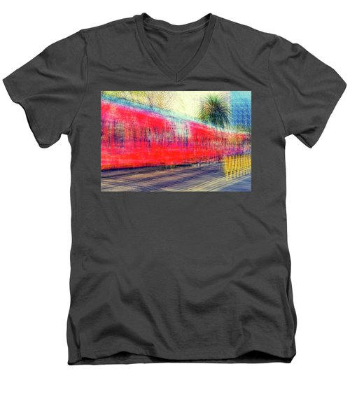 My City's Got A Trolley Men's V-Neck T-Shirt