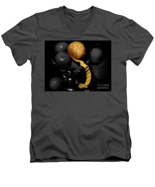 My Clementine Men's V-Neck T-Shirt