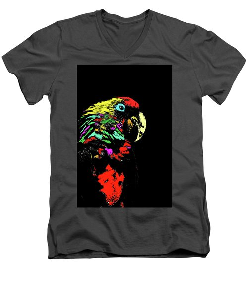 My Colorful Mccaw Men's V-Neck T-Shirt
