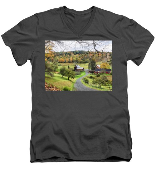 My Dream Home. Men's V-Neck T-Shirt
