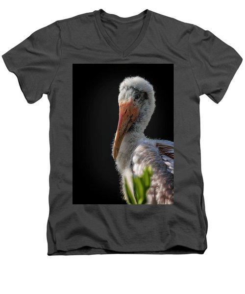 My First Sitting Men's V-Neck T-Shirt