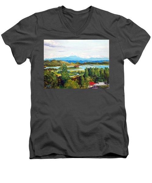 My Homeland Men's V-Neck T-Shirt
