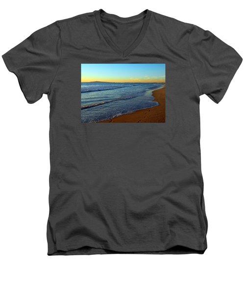 My Kind Of Day Men's V-Neck T-Shirt by Everette McMahan jr