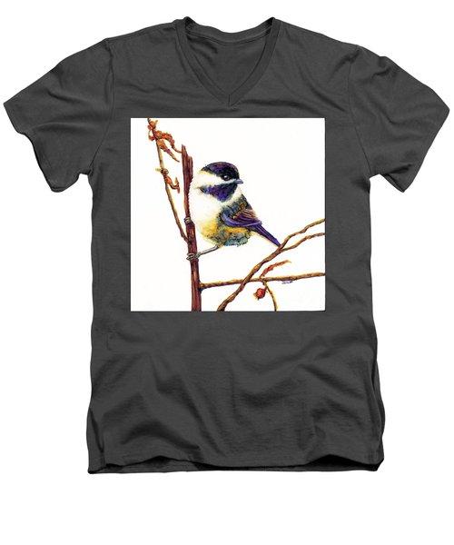 My Little Chickadee Men's V-Neck T-Shirt