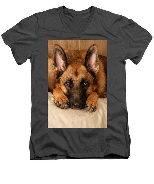 My Loyal Friend Men's V-Neck T-Shirt