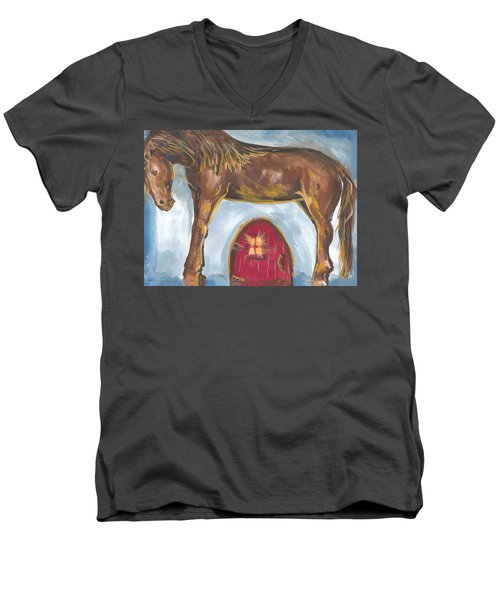 My Mane House Men's V-Neck T-Shirt