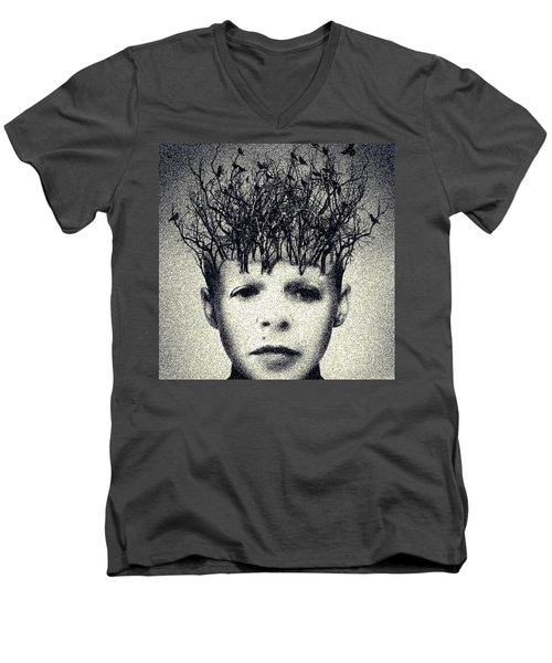My Mind Men's V-Neck T-Shirt