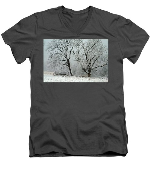 My Morning Walk  Men's V-Neck T-Shirt