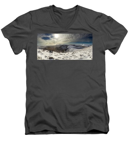 My Mountain Kitchen Men's V-Neck T-Shirt