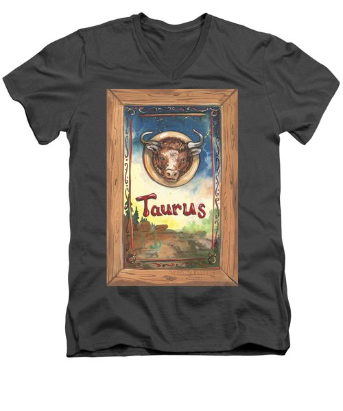 My Taurus Men's V-Neck T-Shirt