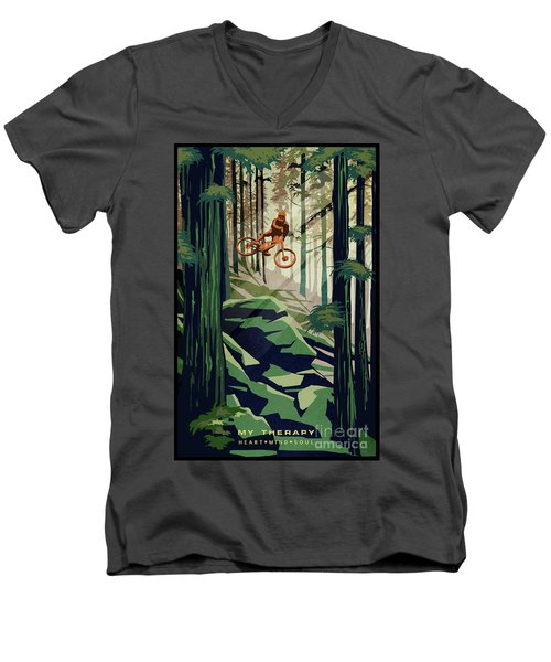 My Therapy Men's V-Neck T-Shirt
